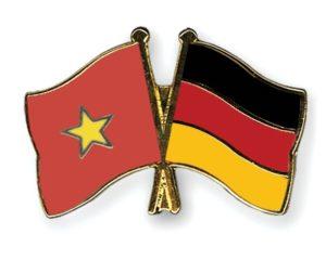Freundschaftspins-Vietnam-Deutschland