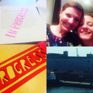 I skønne Århus med min skønne veninde Tina