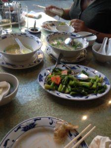 Blandede grøntsager