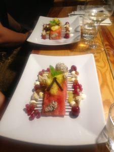 desserten var sindssyg!
